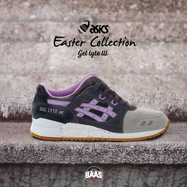"#asics #gellyteIII #eastercollection #sneakerbaas #baasbovenbaas  Asics Gel Lyte III ""Easter Collection"" - Now Available Online, priced at € 119,99  For more info about your order please send an e-mail to webshop #sneakerbaas.com!"