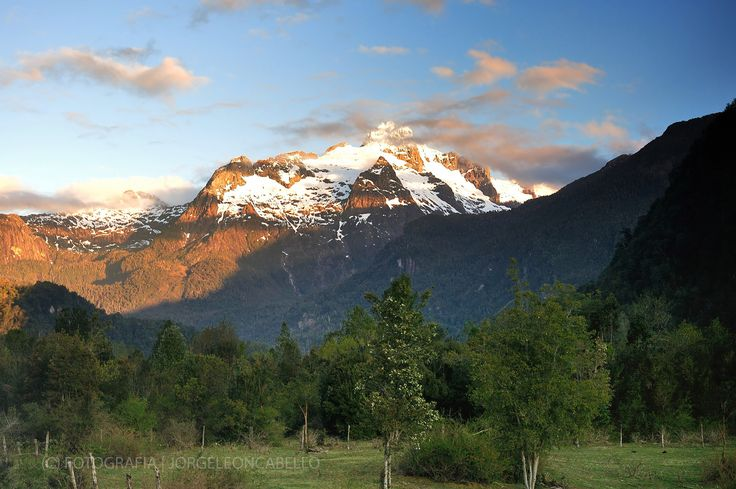 Cajón del Rio Blanco - Hornopiren (Patagonia - Chile)