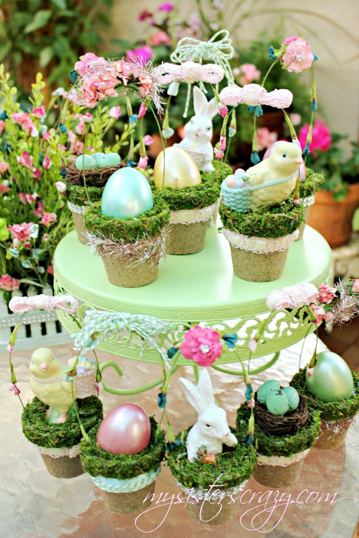 easter basket images | DECORATING WITH SPRING AND EASTER CRAFTS.