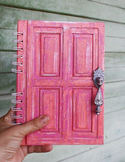 """""""Синяя груша"""": Как я это делаю - Блокнот старая дверь."""