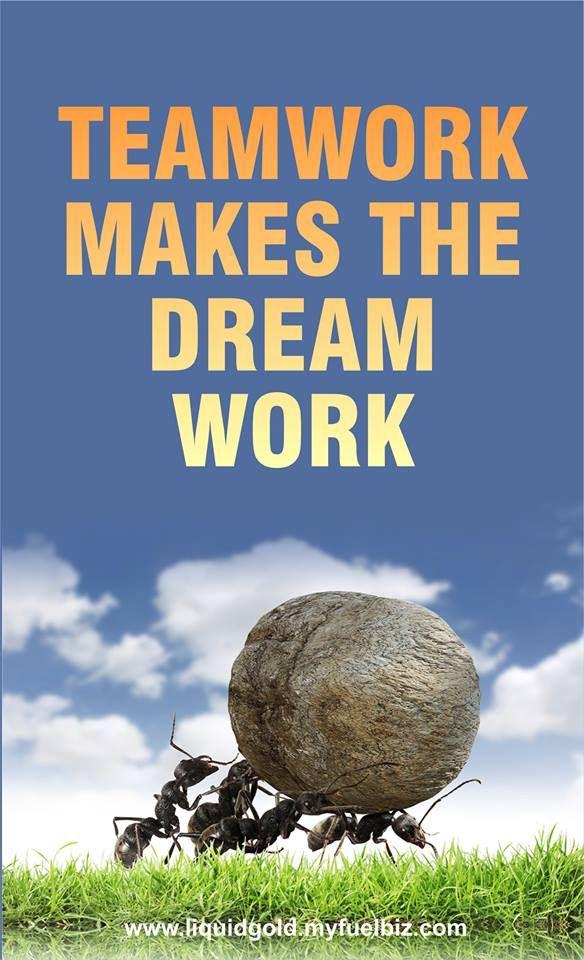 How Teamwork Makes the Dream Work?