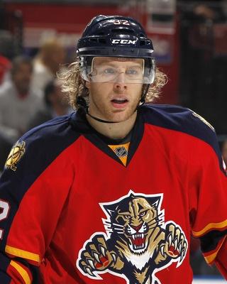 Kris Versteeg, my second favorite of the Panthers.