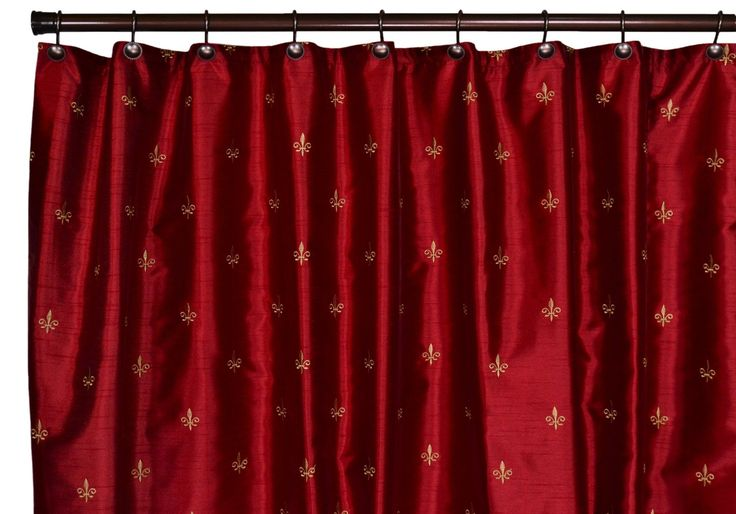 1000+ Ideas About Red Shower Curtains On Pinterest