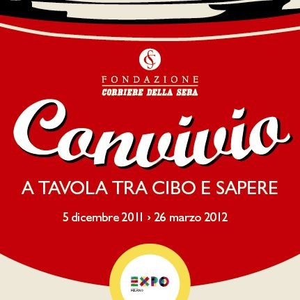 Convivio season 2011-2012: In view of Expo 2015 the Fondazione Corriere della Sera organised a series of lectures, complemented by readings and images, to reflect on the relationship between food and culture. Each meeting will be accompanied by readings performed by actors from the Piccolo Teatro.