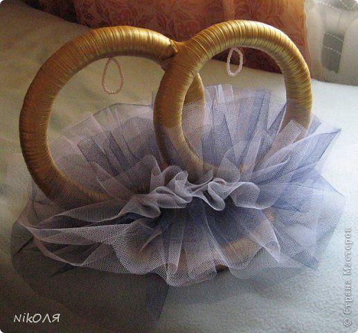 Декор предметов Свадьба Моделирование конструирование МК колец на свадебный автомобиль Ленты фото 1