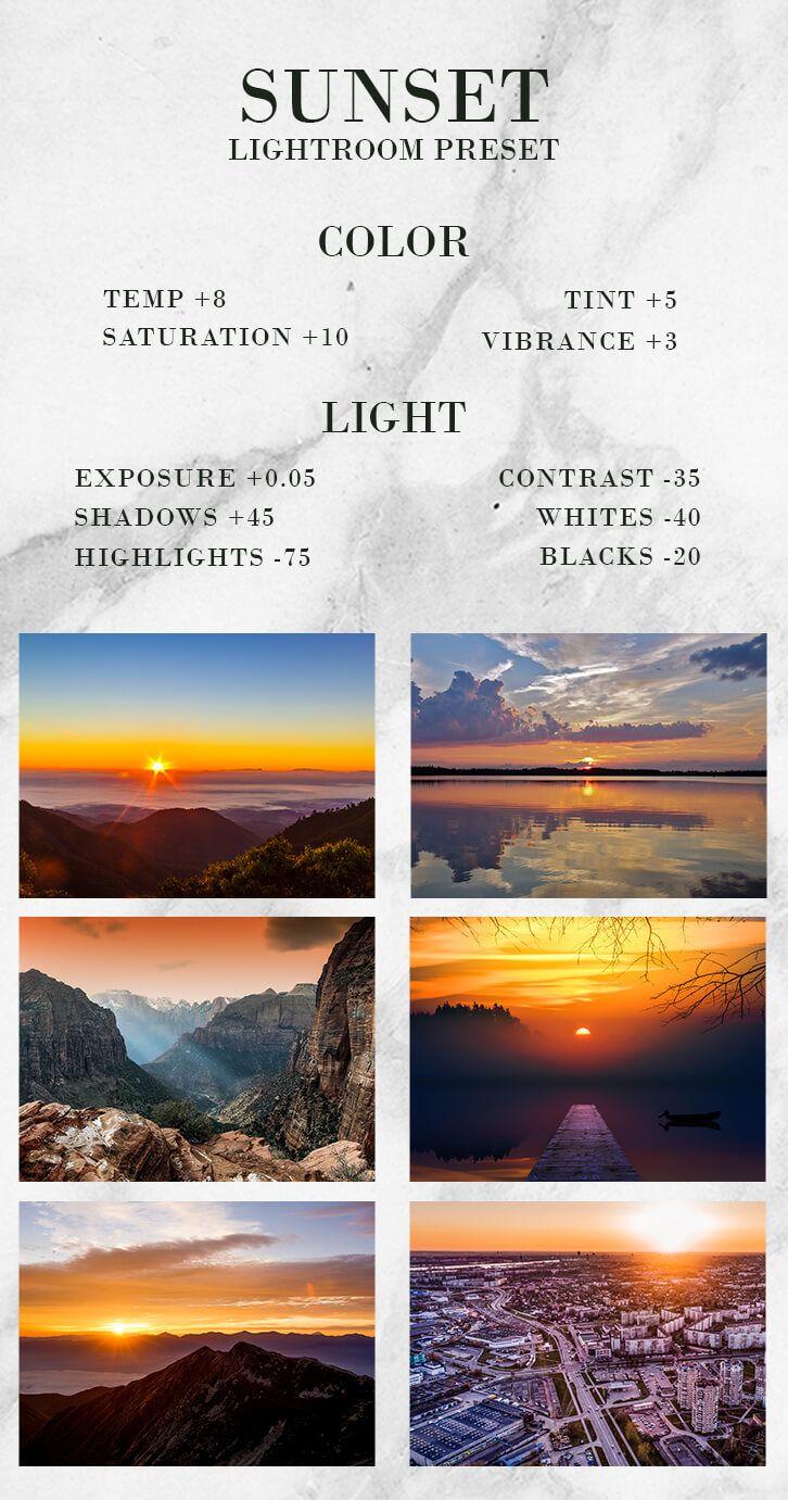 How to make presets on lightroom