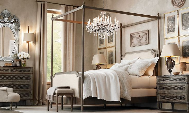 sleeping room inspiration restoration hardware - Google zoeken