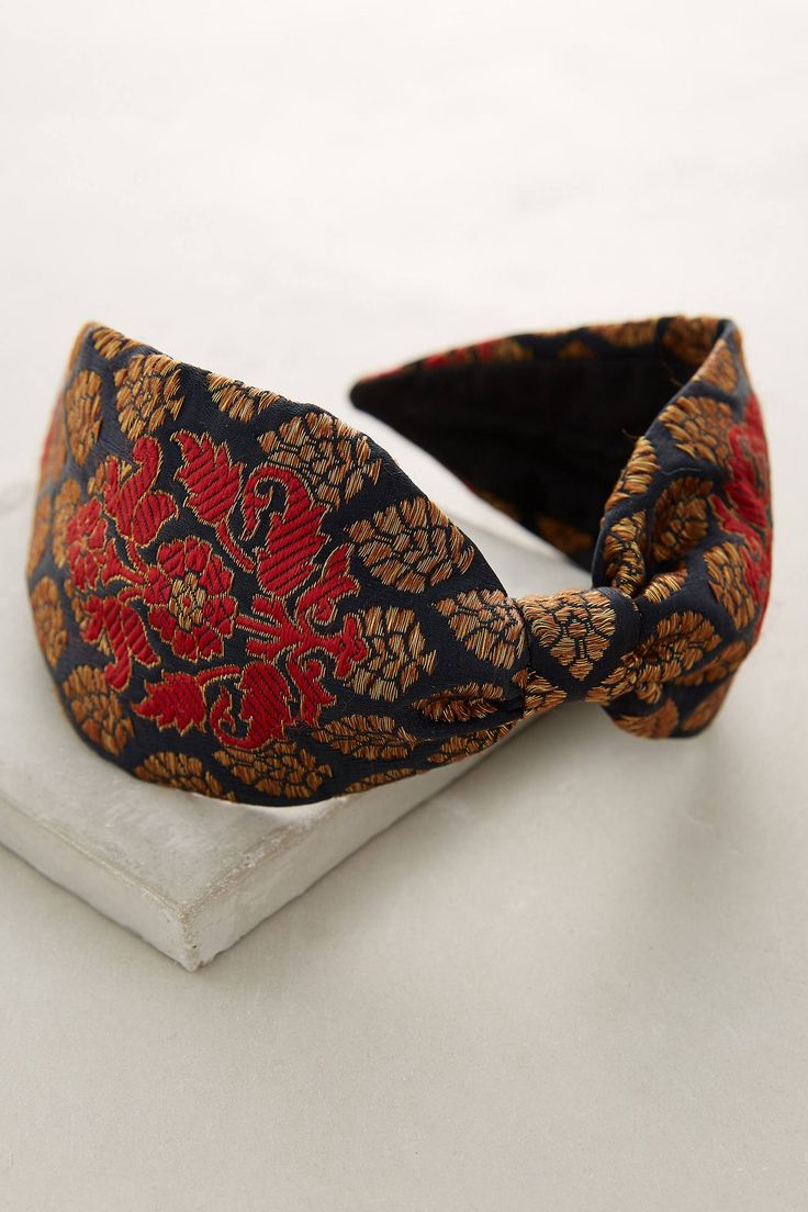 Brocade Turban Headband | Pinned by topista.com