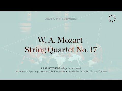 MOZART - String Quartet No. 17 - I: Allegro vivace assai - YouTube