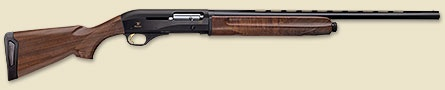 The Franchi 720 gas-operated auto-loader is an outstanding all-around 20-gauge shotgun, capable of taking on a number of specialized roles. With different configurations for each use, the Franchi shotgun is available as a classic upland bird gun stocked in WeatherCoat™ walnut.