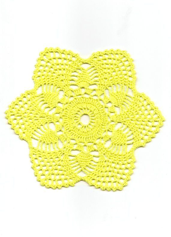 Crochet Doily Small Crocheted Doilies Home Decor Handmade