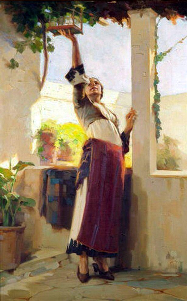 Ταΐζοντας το πουλί από τον Απόστολο Γεραλή.