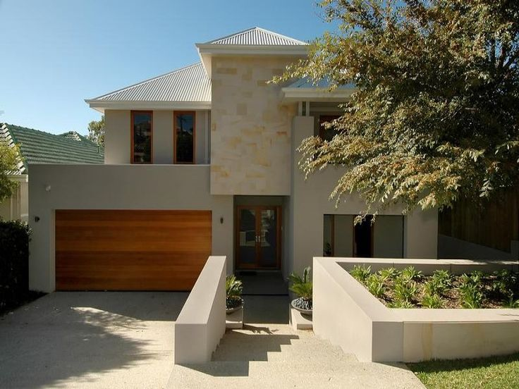 Photo of a rendered brick house exterior from real Australian home - House Facade photo 511672