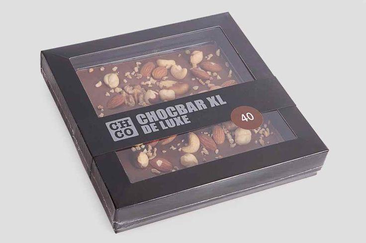 удивительный Шоколад CHOCBAR XL DE LUXE с орехами  #Наборыконфетассорти,ШоколадCHOCBARXLDELUXEсорехами #Наборышоколадныхконфет #Подарки