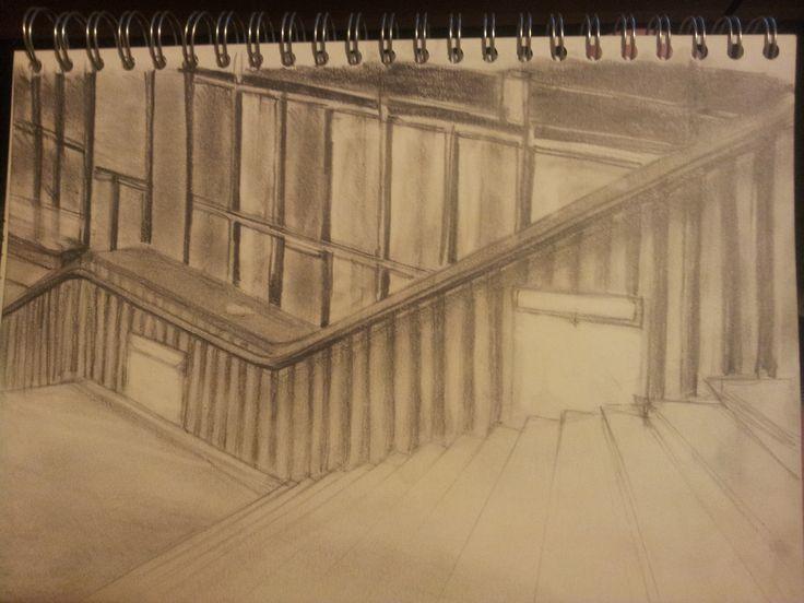 DA College Stairway