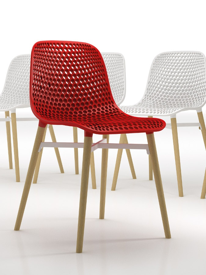 Next #chair by Infiniti at @iSaloni 2013 #design #red @Infiniti Ompgroup