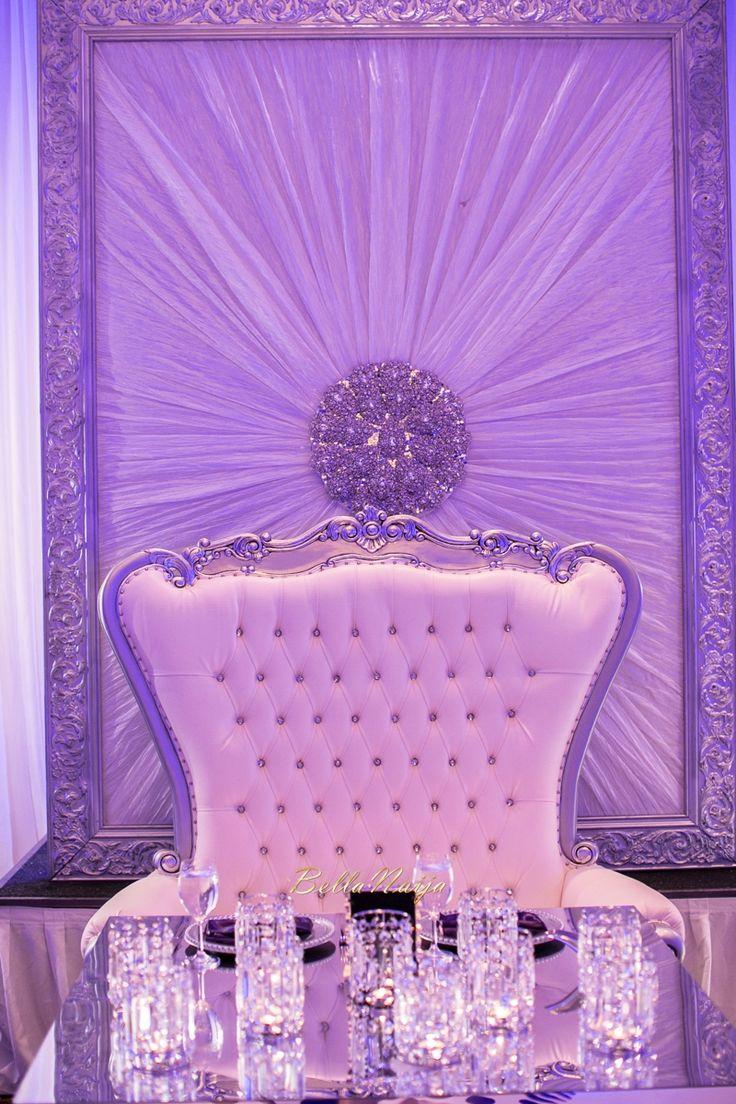 Luxurious White Decor with Diamond Embellishments Dcor