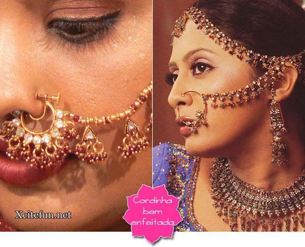 Nathni   O piercig de nariz indiano  