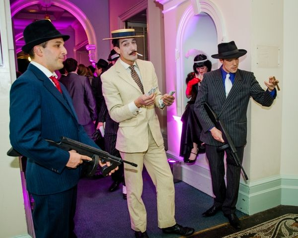 Nothing is getting past these mobsters!! #Cheltenham #Christmas #GreatGatsby
