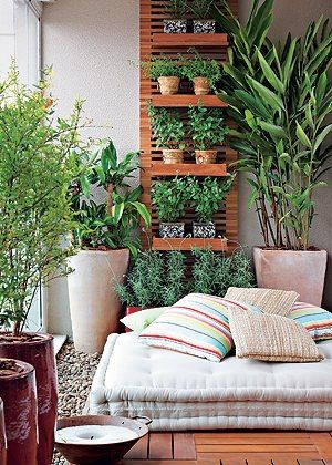 LindonaRem- Comunidade da Moda : Decoração de Jardins para Pequenos Espaços: