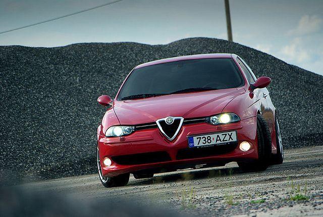 Alfa Romeo 156 GTA by martinifoto.eu, via Flickr  #alfa156