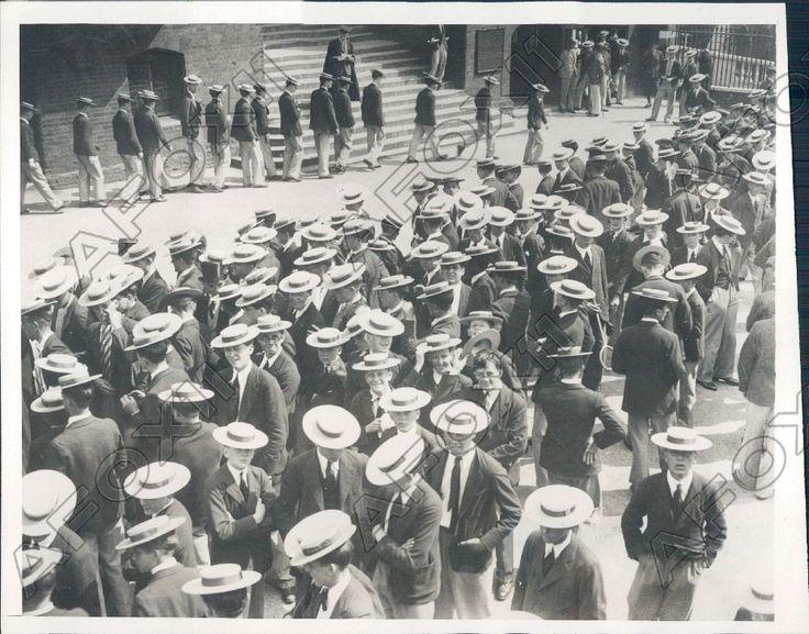 Bill at Harrow School 1932