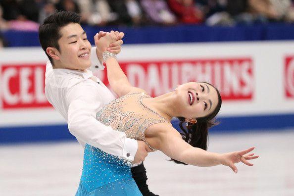 Maia Shibutani and Alex Shibutani of the USA compete in the Ice Dance Short Dance during ISU World Figure Skating Championships at Saitama Super Arena on March 28, 2014 in Saitama, Japan.
