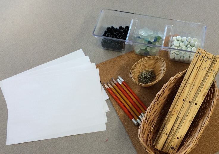 Here's a helpful post on setting up measurement provocations in kindergarten.