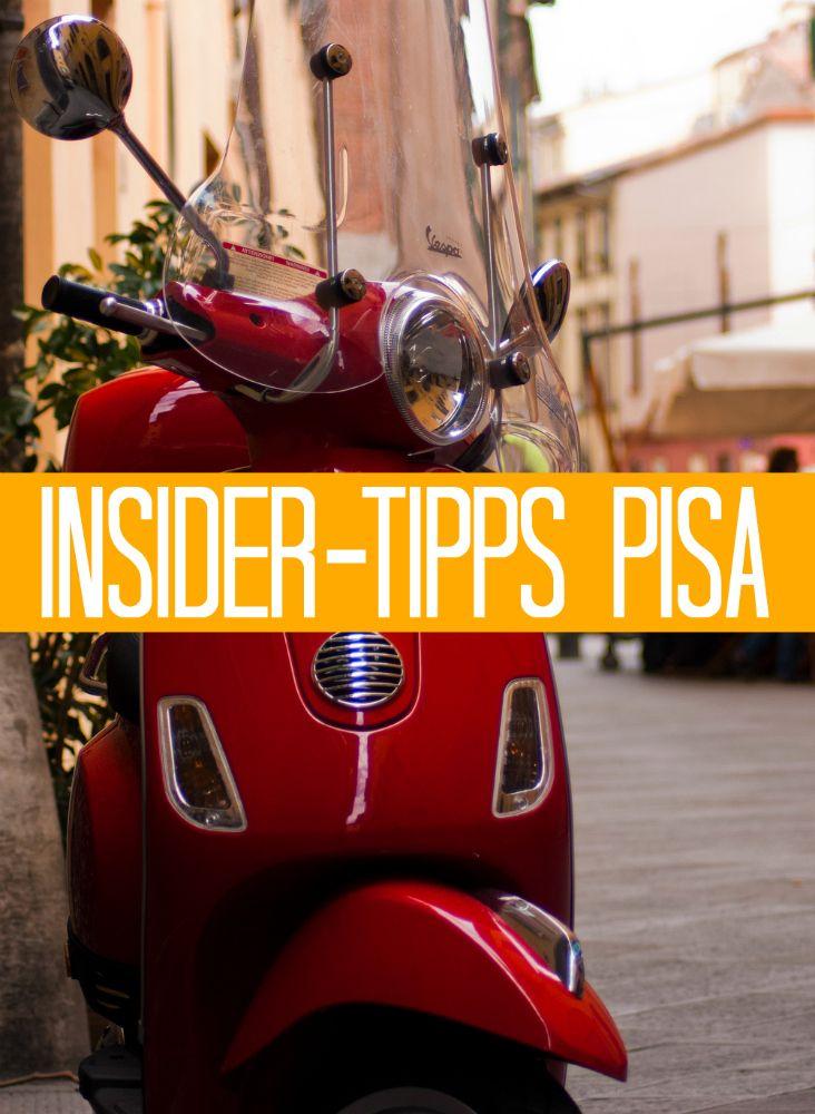 Die besten Geheim- und Insider-Tipps für Pisa: Wo gehen die Einheimischen essen? Wo gibt es die beste Pizza, Pasta und das leckerste Eis?