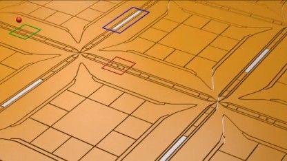 Forscher haben einen praktisch realisierbaren Bauplan für einen universellen Quantencomputer ausgearbeitet. Er soll so groß wie ein Fußballfeld werden und 1.024-Bit-Verschlüsse