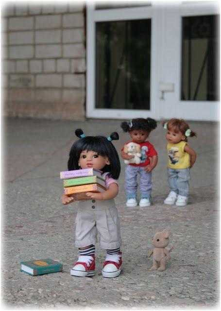 Дорога в мир волшебства и сказки...В мир прекрасный и загадочный...В мир кукол!: Из жизни маленькой банды