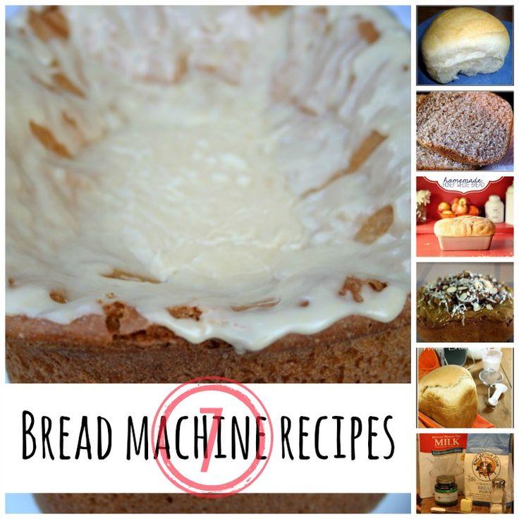 7 bread machine recipes