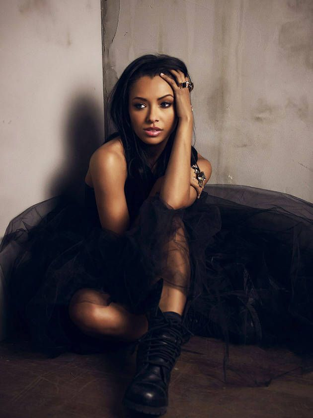 Kat Graham Stars as Bonnie Bennett in The Vampire Diaries