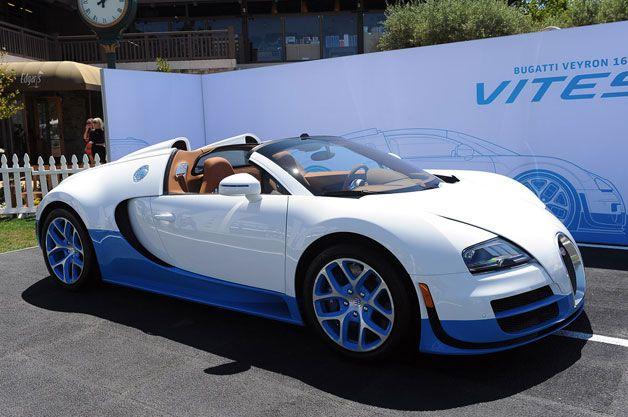Bugatti Introduce Us To Their Special Edition Grande Sport Vitesse via carhoots.com