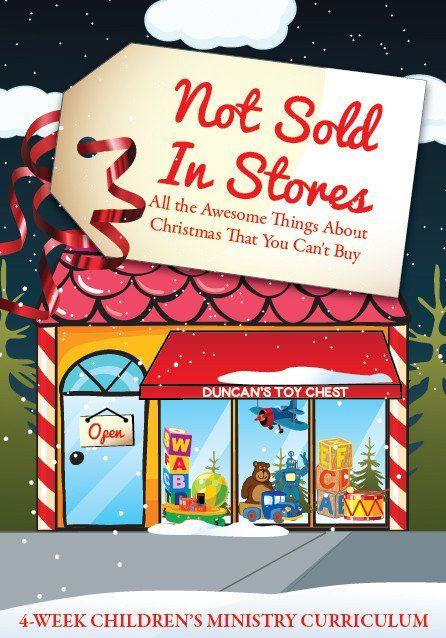 Not Sold In Stores Children's Ministry Christmas Curriculum