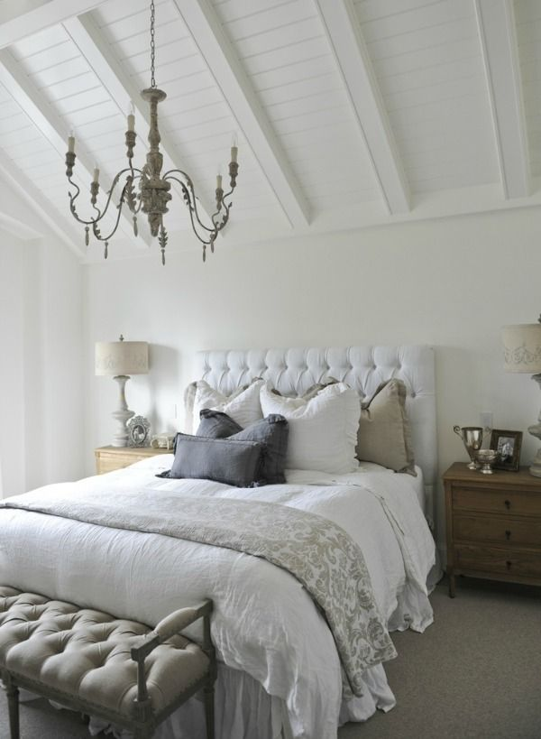 17 best images about serene bedrooms on pinterest for Beautiful neutral bedrooms