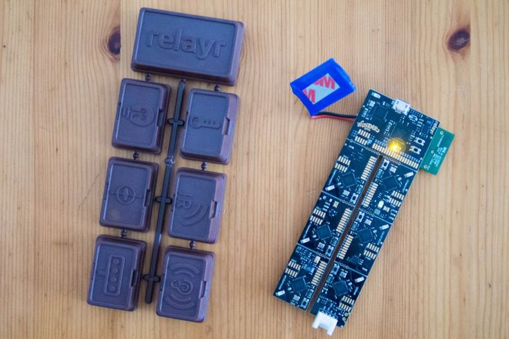 "WunderBar kit with ""chocolate"" casing. Sensor kit gets notifications app for broader appeal"