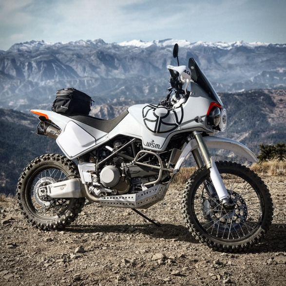 Walt Siegl Dual Sport Ducati Adventure Bike Adventure
