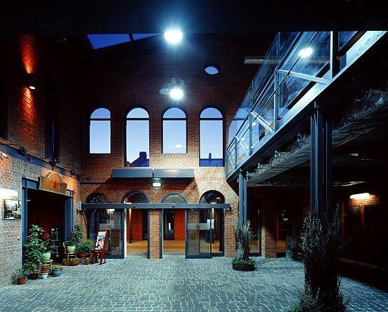 inside, Stara Przędzalnia in Konstancin Jeziorna