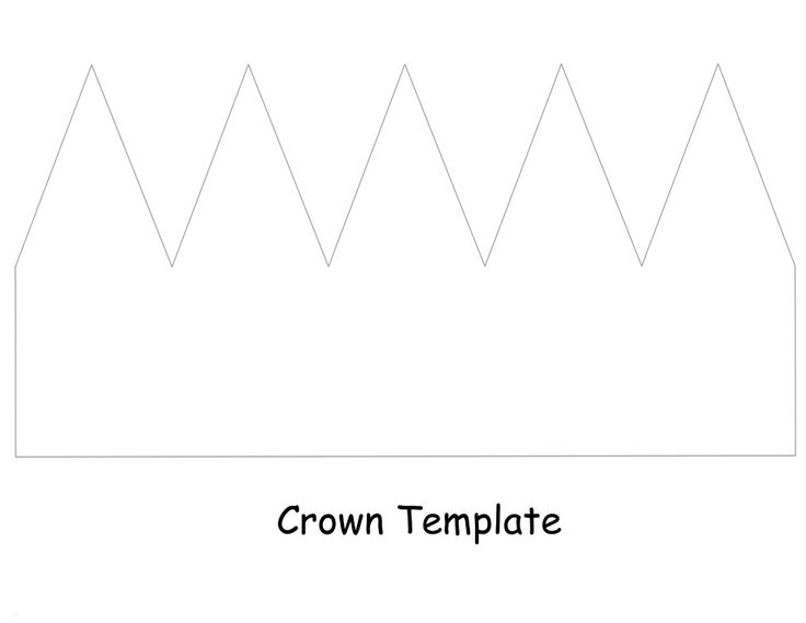 crown template | Birthday plans | Pinterest