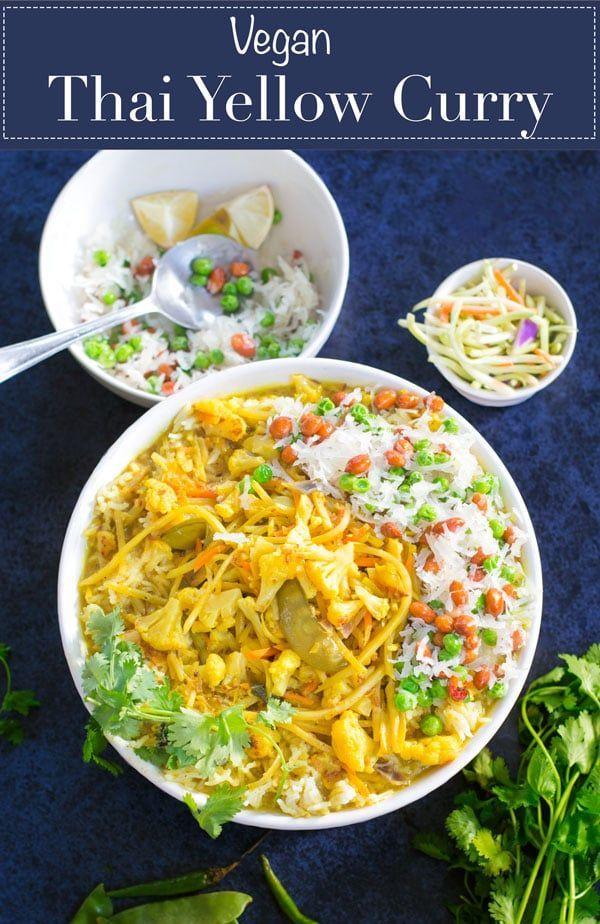Vegan Thai Yellow Curry Recipe #thai #vegan #themelrosefamily