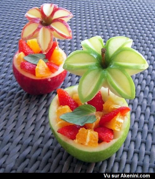 Photos Fun N°9415 - Salade de fruits originale