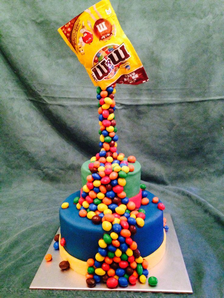 Anti Gravity M Amp M Cake Anti Gravity Cake Gravity Cake
