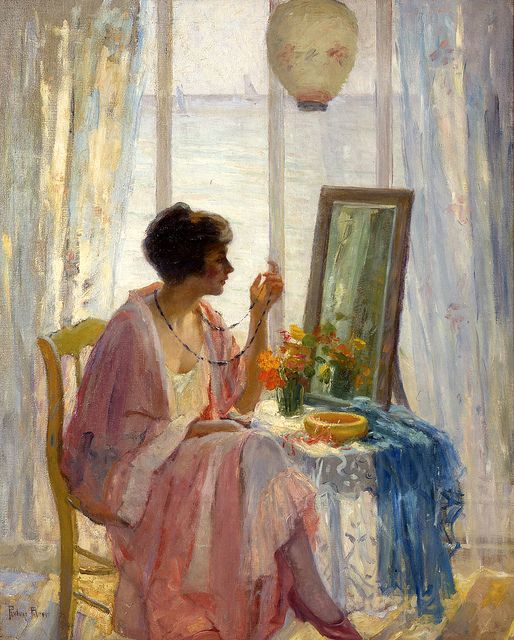 The Morning Sun By Artist Pauline Palmer 1920
