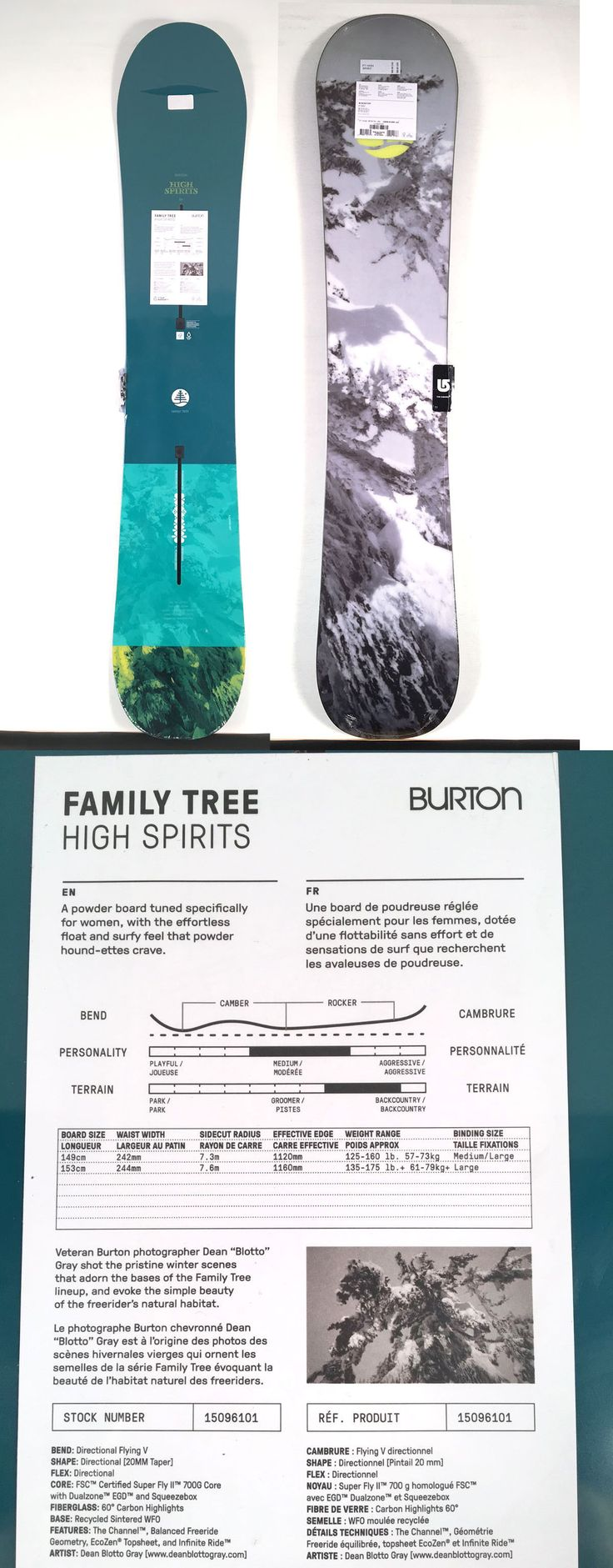 Snowboards 93825: Brand New 2017 Burton High Spirits Family Tree Snowboard 153 Cm 153Cm Women 17 -> BUY IT NOW ONLY: $359.95 on eBay!
