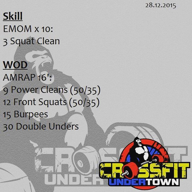 #wod #cftundertown #crossfit #workout #conditioning #barbells #gymnastics #strength #skill #xeniosusa #roguefitness #supportyourlocalbox