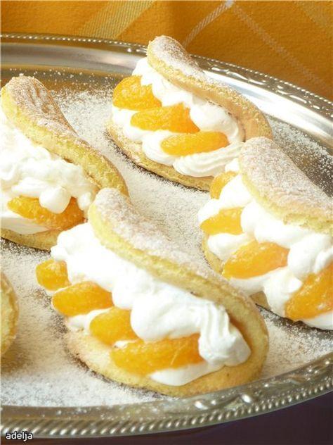 Бисквитные пирожные «Нежный омлет» : Торты, пирожные