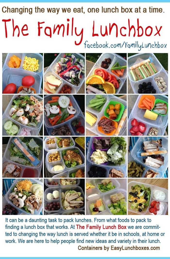 Follow The Family Lunchbox on Facebook │containers by @EasyLunchboxes