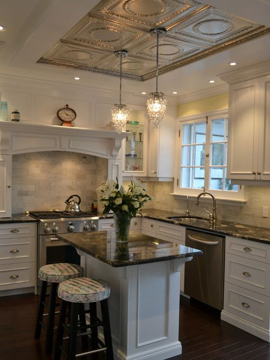Tin Ceilings Design, Pictures, Remodel, Decor and Ideas - page 3