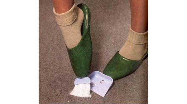 Pantofole per spazzare